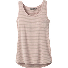 Prana Foundation U-Ausschnitt Tank Top Damen sparrow heather stripe